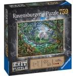 Ravensburger-15030 Exit Puzzle - Licorne