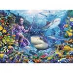 Puzzle  Ravensburger-15039 Roi de la Mer