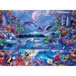 Puzzle  Ravensburger-15047 Star Line - La Magie du Clair de Lune