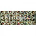 Puzzle  Ravensburger-15062 Michel Ange : La Chapelle Sixtine
