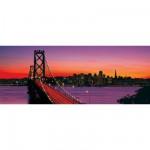 Puzzle  Ravensburger-15104 San Francisco : Pont d'Oakland Bay