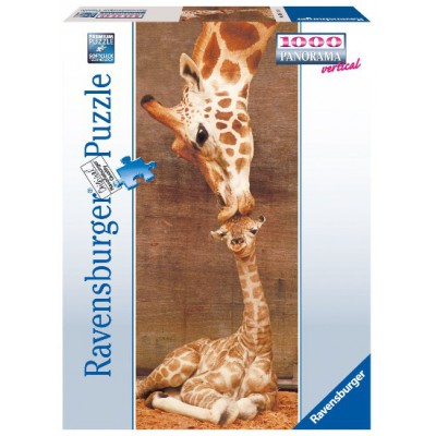 Puzzle Ravensburger-15115 Premier baiser
