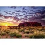 Puzzle  Ravensburger-15155 Ayers Rock en Australie