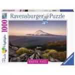 Puzzle  Ravensburger-15157 Stratovolcan Mount Hood dans l'Oregon, États-Unis