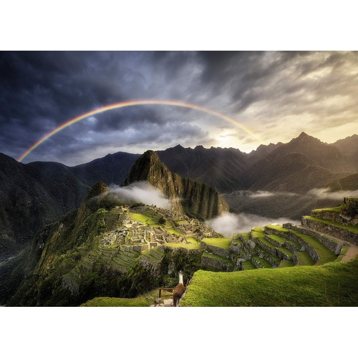 Arc-en-Ciel sur Machu Picchu, Pérou