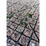 Puzzle  Ravensburger-15187 Barcelone vue d'en Haut