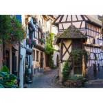 Puzzle  Ravensburger-15257 Eguisheim en Alsace