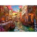 Puzzle  Ravensburger-15262 Romance à Venise