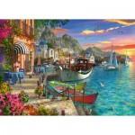 Puzzle  Ravensburger-15271 Magnifique Grèce
