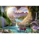 Puzzle  Ravensburger-15272 La Caverne du Coeur
