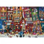Puzzle  Ravensburger-15275 Quand les Cochons Volents