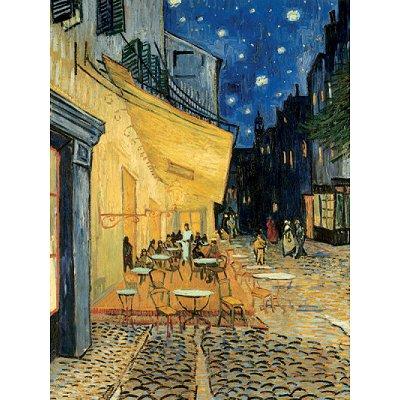 Puzzle Ravensburger-15373 Van Gogh Vincent : Café de nuit