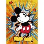 Puzzle  Ravensburger-15391 Rétro Mickey