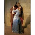 Puzzle  Ravensburger-15405 Hayez Francesco : Le baiser