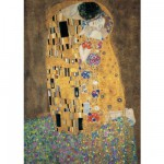Puzzle  Ravensburger-15743 Klimt Gustav : Le baiser