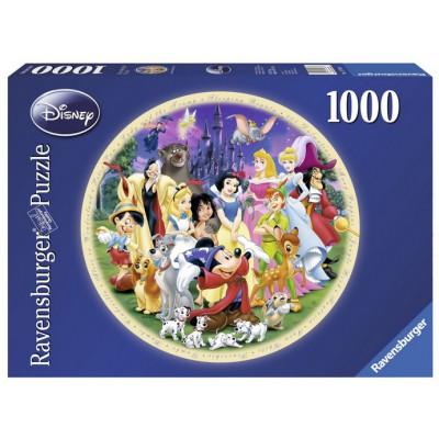 Puzzle Ravensburger-15784 Le Monde Merveilleux de Disney