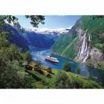 Puzzle  Ravensburger-15804 Fjord norvégien
