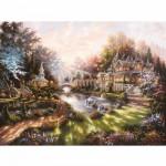 Puzzle  Ravensburger-15944 Eclat du matin