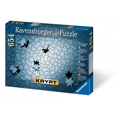 Puzzle Ravensburger-15964 Krypt Argent