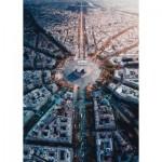 Puzzle  Ravensburger-15990 Paris vue d'en Haut