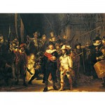Puzzle  Ravensburger-16205 Rembrandt : La ronde de nuit