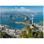 Puzzle  Ravensburger-16317 Vue de Rio