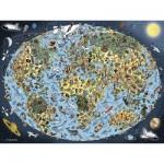 Puzzle  Ravensburger-16360 Terre Colorée