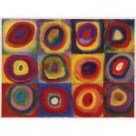 Puzzle  Ravensburger-16377 Kandinsky : Etude des couleurs