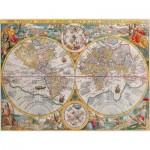 Puzzle  Ravensburger-16381 Mappemonde en 1594