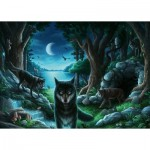 Ravensburger-16434 Escape Puzzle - Histoires de Loups