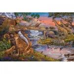 Puzzle  Ravensburger-16465 Le Règne Animal