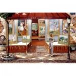 Puzzle  Ravensburger-16466 Galerie des Beaux Arts