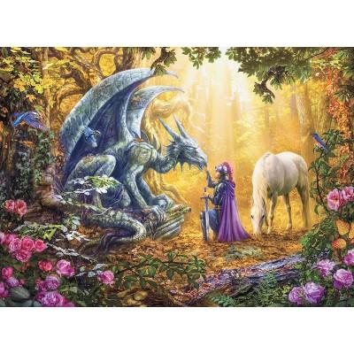 Puzzle Ravensburger-16580 Dragon Whisperer