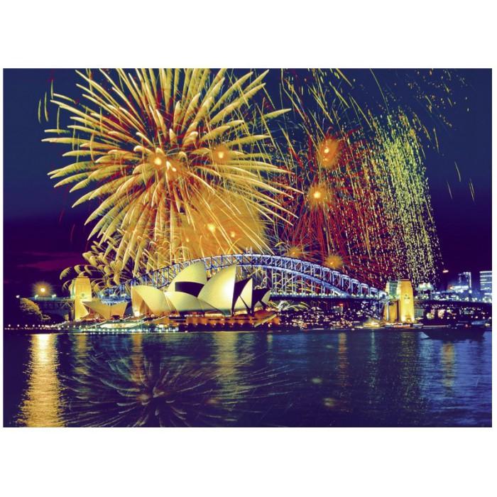 Australie, Feu d'artifice sur Sydney