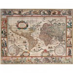 Puzzle  Ravensburger-16633 Mappemonde