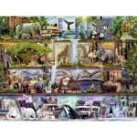Puzzle  Ravensburger-16652 Aimee Steward - Grande Faune
