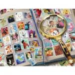 Puzzle  Ravensburger-16706 Disney - Mes Timbres Préférés