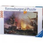 Puzzle  Ravensburger-17010 Le bombardement d'Alger