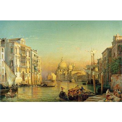 Puzzle Ravensburger-17035 Le Grand Canal de Venise