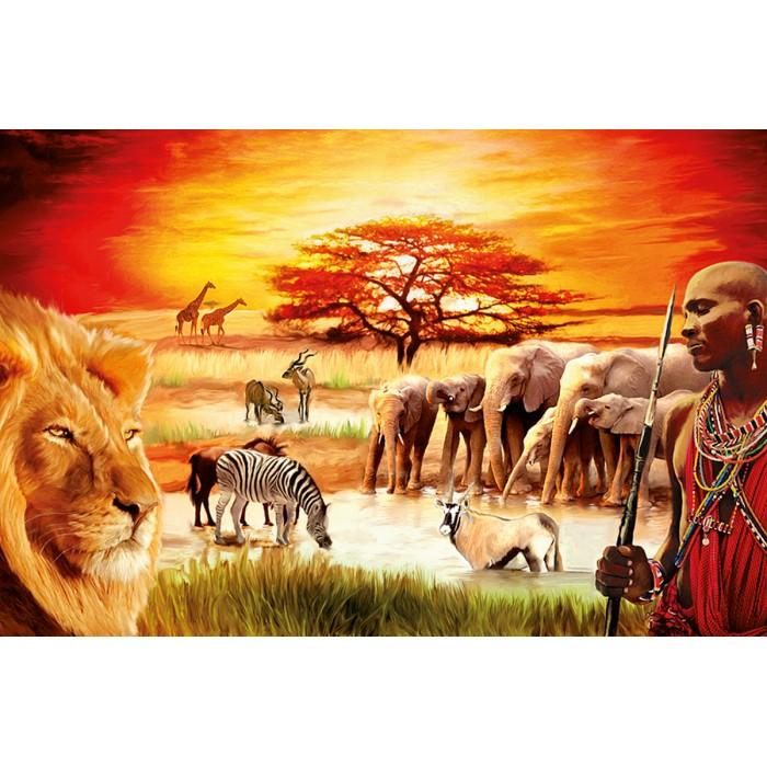 La fierté du Massaï