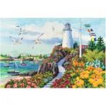 Puzzle  Ravensburger-17073 Coastal Paradise