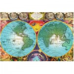 Puzzle  Ravensburger-17074 Antique Map