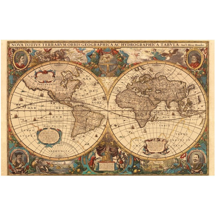 Mappemonde antique