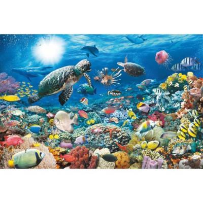 Puzzle Ravensburger-17426 Sous la Mer