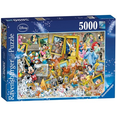 Puzzle Ravensburger-17432 Mickey l'Artiste