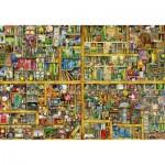 Puzzle  Ravensburger-17825 Colin Thompson: Bibliothèque Magique