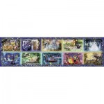 Puzzle  Ravensburger-17826 Moments Disney inoubliables