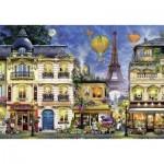 Puzzle  Ravensburger-17829 Promenade du Soir à Paris