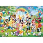 Puzzle  Ravensburger-19019 Anniversaire de Mickey