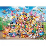 Puzzle  Ravensburger-19383 Disney Carnaval Multicha